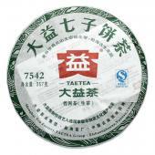 经典生茶 2011年大益7542生饼 批次随机 357克饼茶