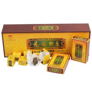 2012年龙园印象普洱茶生茶 龙园号普洱茶礼品茶