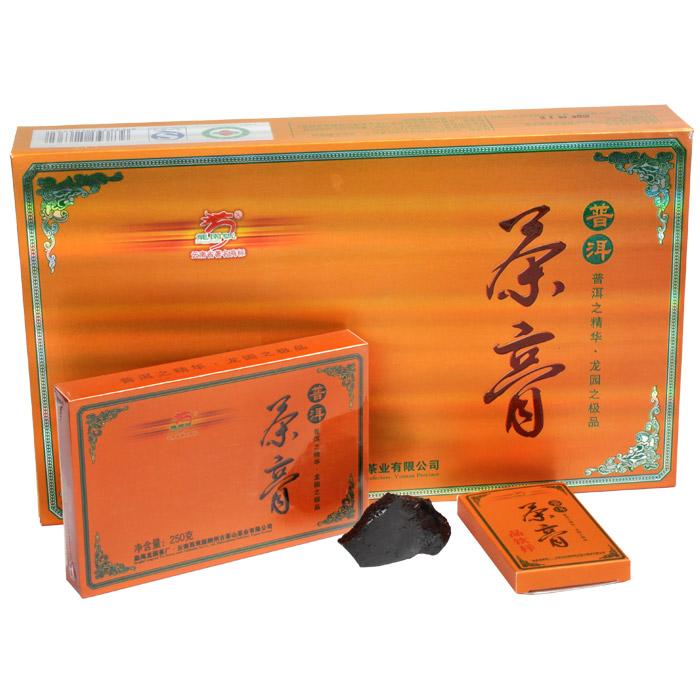 【尾货清仓,最后4盒】2012年龙园号普洱茶膏礼品茶 礼盒装普洱生茶膏 266克/盒