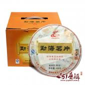 老曼峨班章茶厂 2013年勐海茗片 勐海普洱熟茶 500克/饼