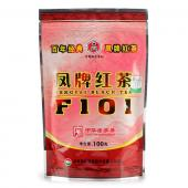 2014年云南滇红茶 F101红茶 滇红集团凤庆茶厂 100克/袋