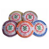 中茶牌普洱茶 2007年中茶五大印记圆茶 经典印记茶再现 5饼/提