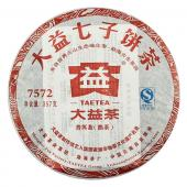 2011年大益7572熟饼  普洱熟茶云南普洱茶叶七子饼 357克/饼