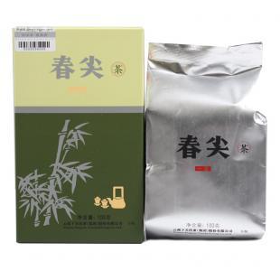 2016年下关茶厂 春尖生茶 云南普洱茶散茶 100克/盒