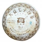 2007年大益7592熟饼 昆明干仓老茶 普洱七子饼茶 357克/饼