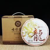 【双十一,口粮特惠】七彩云南龙凤饼 龙饼 普洱熟茶 357克/饼