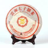 云南普洱茶 中茶2001年8582生饼 澳门华联定制 357g/饼
