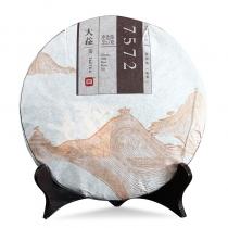 2015年大益7572熟饼(经典版) 普洱熟茶 357克/饼