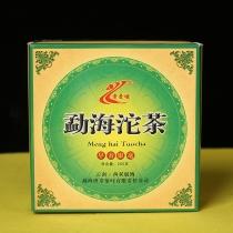 2008年老曼峨班章茶厂 勐海沱茶 精品老生茶 生沱250克沱/盒