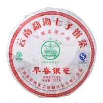 勐海黎明八角亭 2011年早春银毫 357g/饼 乔木古树生茶 八大常规