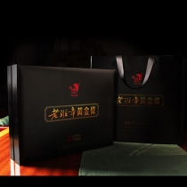 2019年傣园普香老班章黄金条   云南普洱生茶 老班章礼品茶  400克/盒