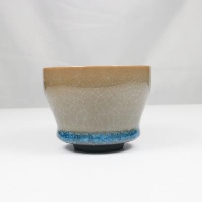 福至陶瓷品茗杯  大杯  茶碗 冰裂纹杯  7款3色随机配发