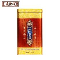 【新品上市】七彩云南庆沣祥  珍藏陈香金芽普洱茶   熟茶 散茶 250克/罐