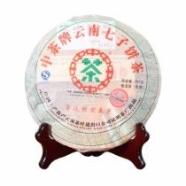 【新品上市】2007年中茶 景迈明前春芽 生茶 357克/饼