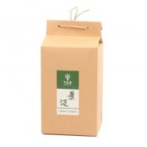 【头春茶上市】中木景迈散茶 2020年头春古树散料 生茶 200克/盒