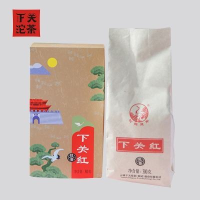 下关2020年  下关红 滇红茶 工夫红茶 300克/盒