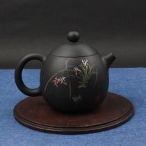 云南建水紫陶 龙蛋壶  后月定制款茶具