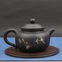 【已售罄】云南建水紫陶 灯笼壶 黑壶 后月定制款茶具