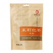 凤牌茉莉红茶 滇红集团茶叶 凤庆茉莉红茶 袋装125g/袋