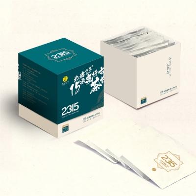 德宏古茶 普洱茶 古树生茶 小方片便携装96克/盒 12片