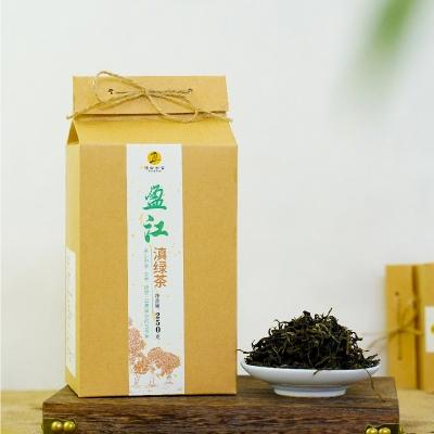 德宏古茶 盈江滇绿 古树绿茶  罐装茶 250克/盒
