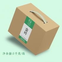 【古六山头春预售】中木 蛮砖古树头春散料 2021年春茶季 1kg/盒 普洱生茶