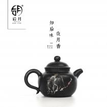【五一特惠】云南建水紫陶 灯笼壶 黑壶 后月定制款茶具