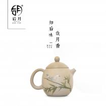 【五一特惠】云南建水紫陶 龙蛋壶  后月定制款茶具